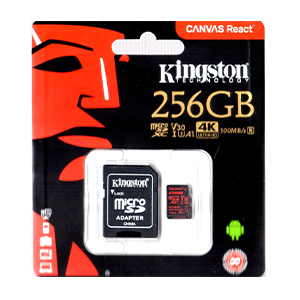 Kingston 256GB Micro SDXC Memory Card Class 10 Gold Edition
